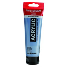 562 Amsterdam acryl grijsblauw