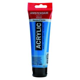 582 Amsterdam acryl mangaanblauw phtalo