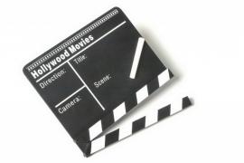 Houten film klapbord {L1895/1/5}