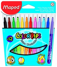 Viltstift Color'Peps Maped 12 stiften (M2/2)