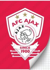 Ajax Schrift A4 ruit 15-16  *3/2*