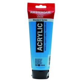 564 Amsterdam acryl briljantblauw