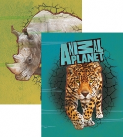 Animal Planet Schrift A5 lijn, set van 3 assorti 14-15  *2/2*