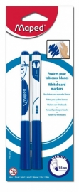 Whiteboardmarkers Marker Peps Maped blauw x 2 (M1/1)