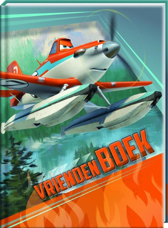 Planes 2 vriendenboekje (V2)
