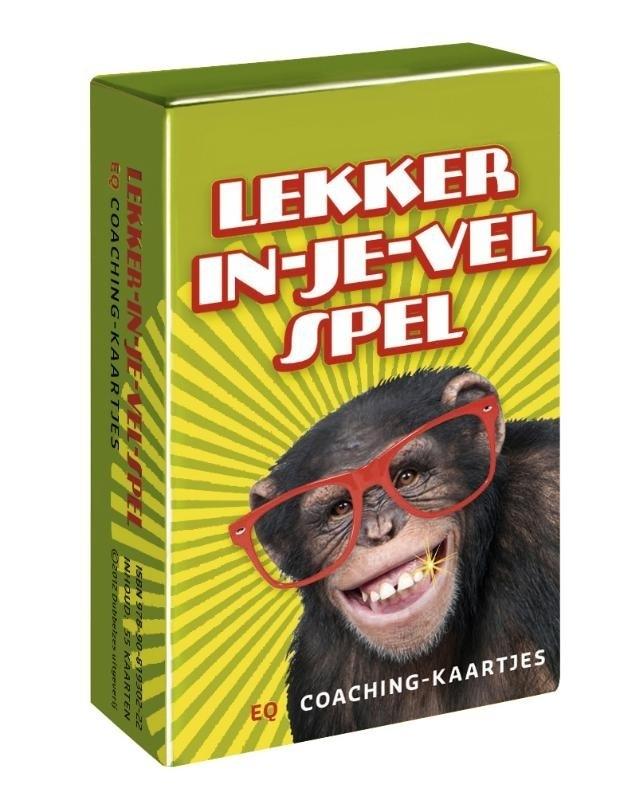 Lekker-in-je-vel-spel, 55 kaartjes {L/1}