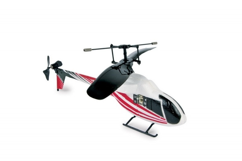 Infrarood helikopter rood {L2651/1/3}