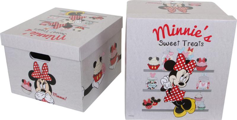 Minnie Mouse Opbergbox, set van 2 {L9196/G} OP=OP