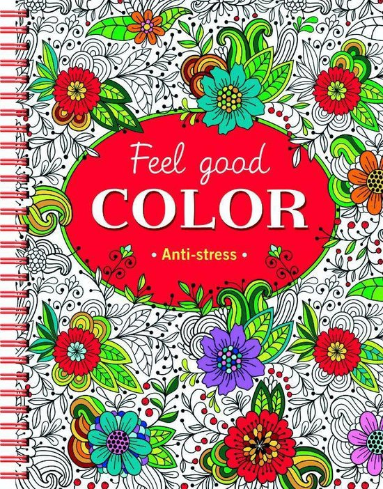 Feel good color Anti-stress kleurboek [BK/1/5]
