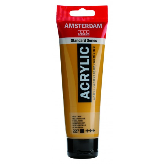 227 Amsterdam acryl gele oker