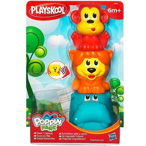 Playskool piepende stapeldieren {(w2/6} OP=OP