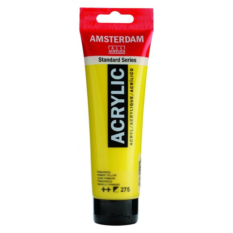 275 Amsterdam acryl primair geel