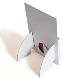 Folderhouder drieluik brochures