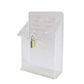 Flessenbonnen inzamelbakje A5 transparant