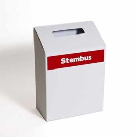 urne électorale carton