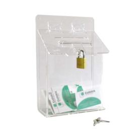 Petite boîte aux lettres A5 transparent