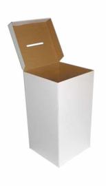 boîte à idées de carton couleur grand