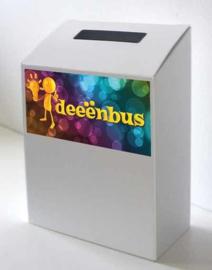 boîte à idées de carton couleur