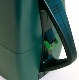 Sluitzegel collectebus groen traditioneel