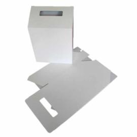 boîte de idées carton blanc