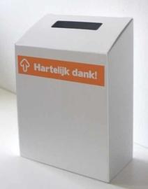boîte de idées carton Merci