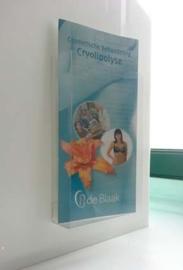 Présentoir 1/3 A4 brochures