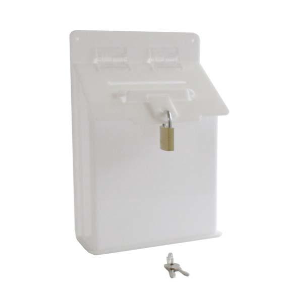 Petite boîte aux lettres A5 blanc