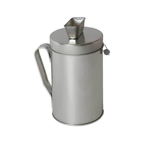 Collectebus zilver metaal