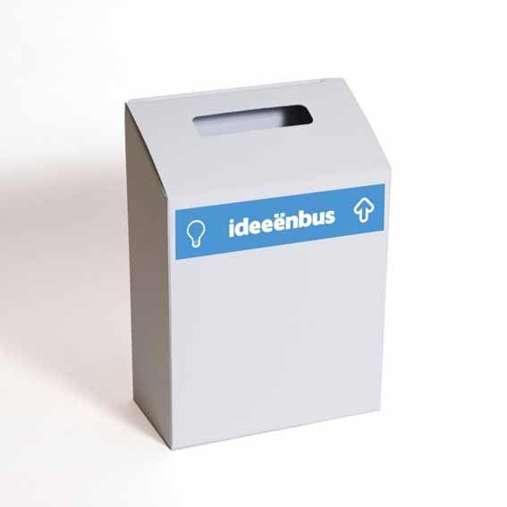 Ideeënbus Budget Blauw