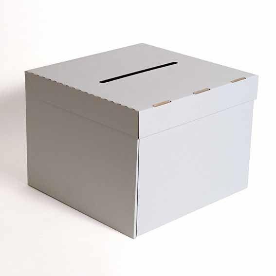 boîtes de carton carré