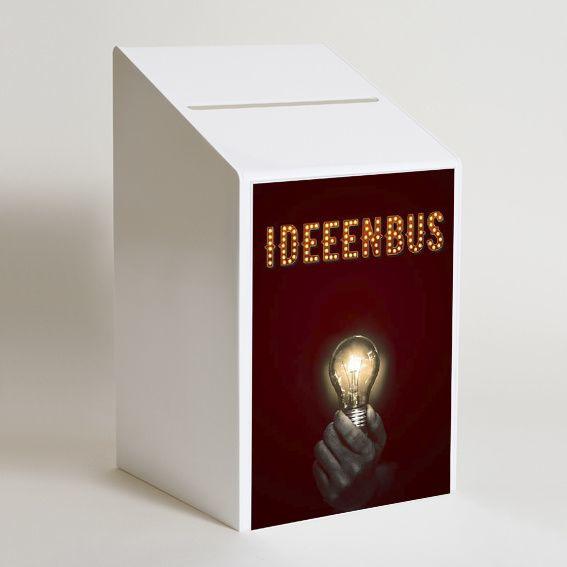 Ideeënbus luxe met print - circus