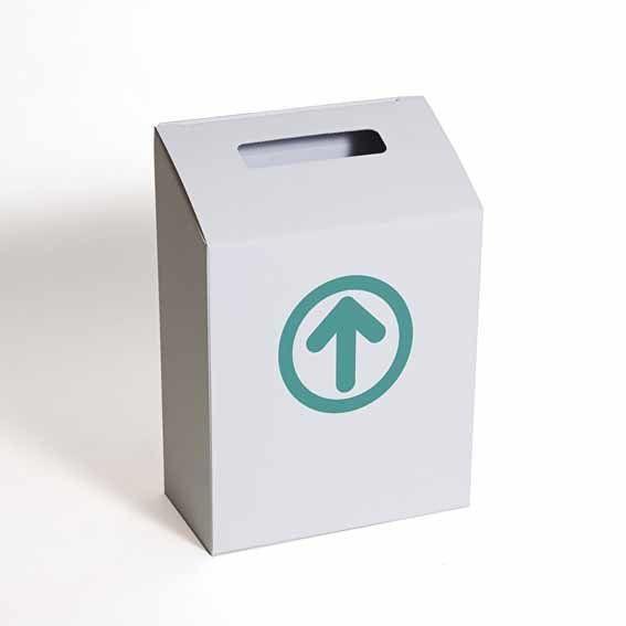 boîte à enquêtes flèche verte