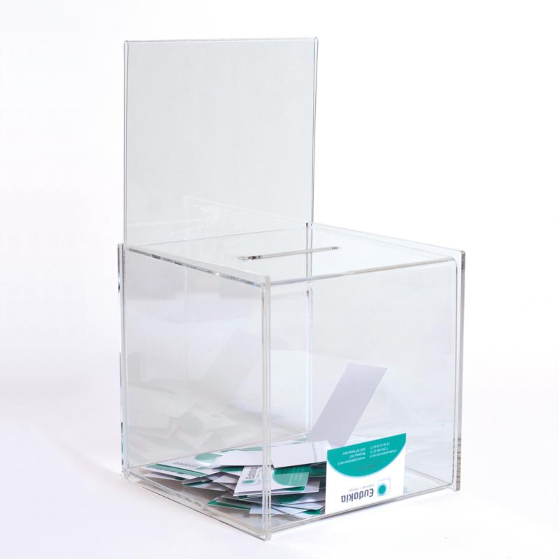 Leadbox transparant