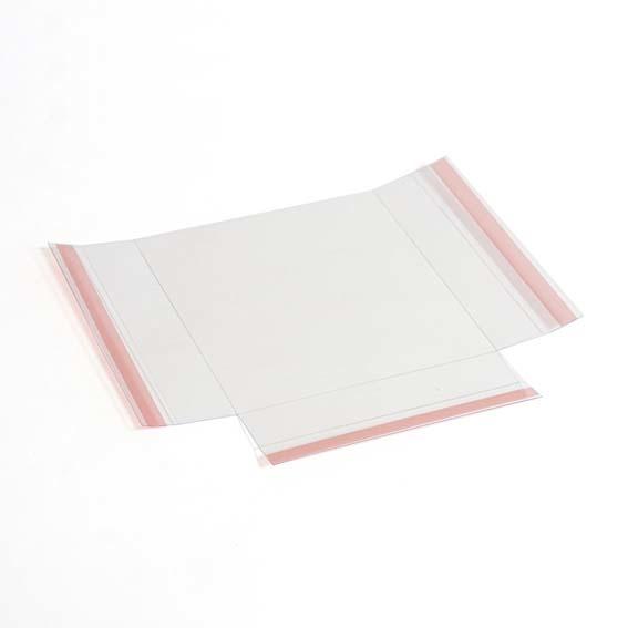 Zelfklevend folderbakje voor A5 brochures