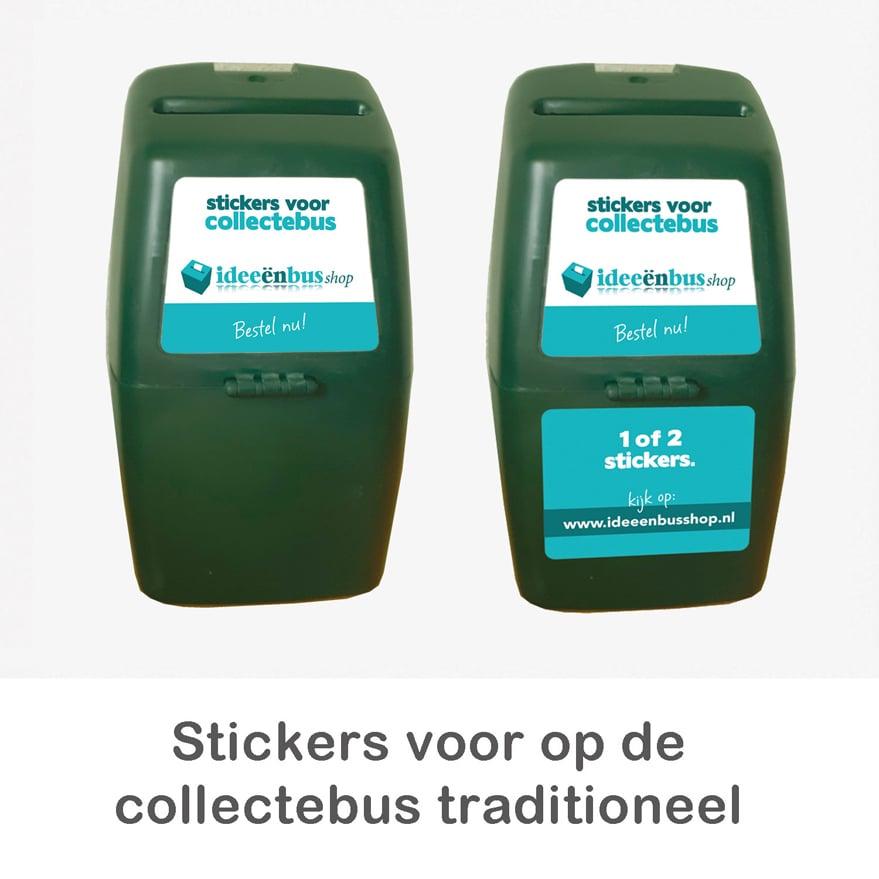 stickers voor collectebus