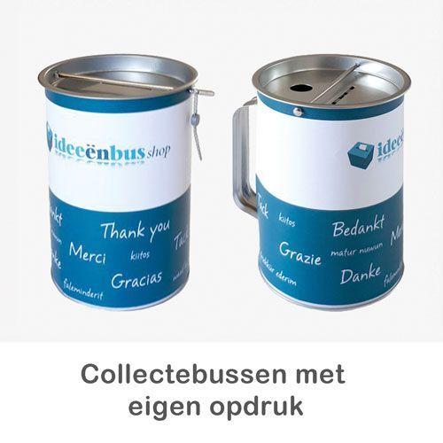 collectebus met eigen logo