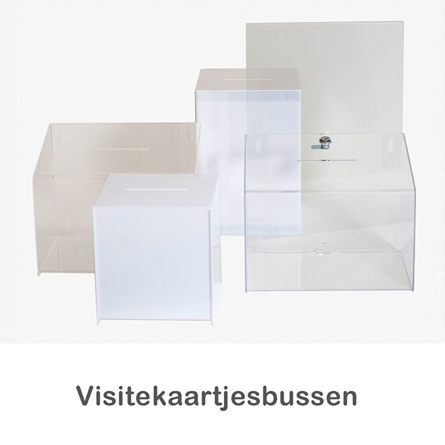visitekaartjesverzamelbox