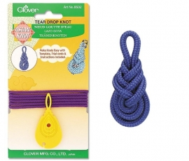 Clover asian tear drop knot