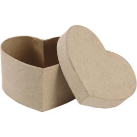 Hartvormige doos