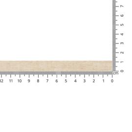 Keperband 11mm grijsbruin