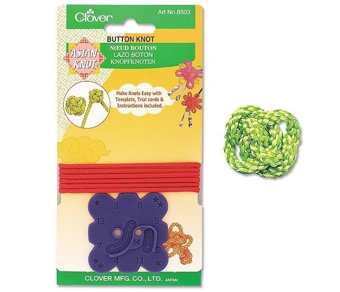 Clover asian button knot