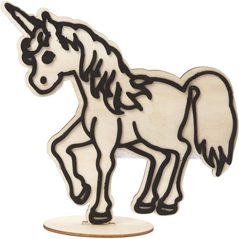 Figuur om te decoreren unicorn