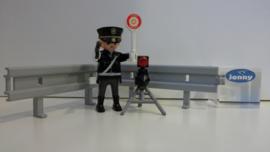 Politie met flitser