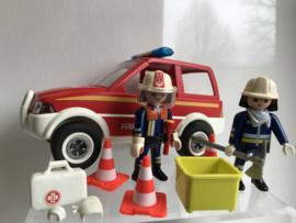 Brandweer aanvalswagen