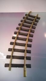 Rails gebogen