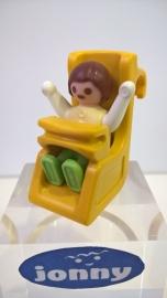 Autostoel met baby