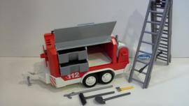 Brandweer ladderaanhanger