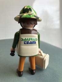 Onderzoeker Saurus team