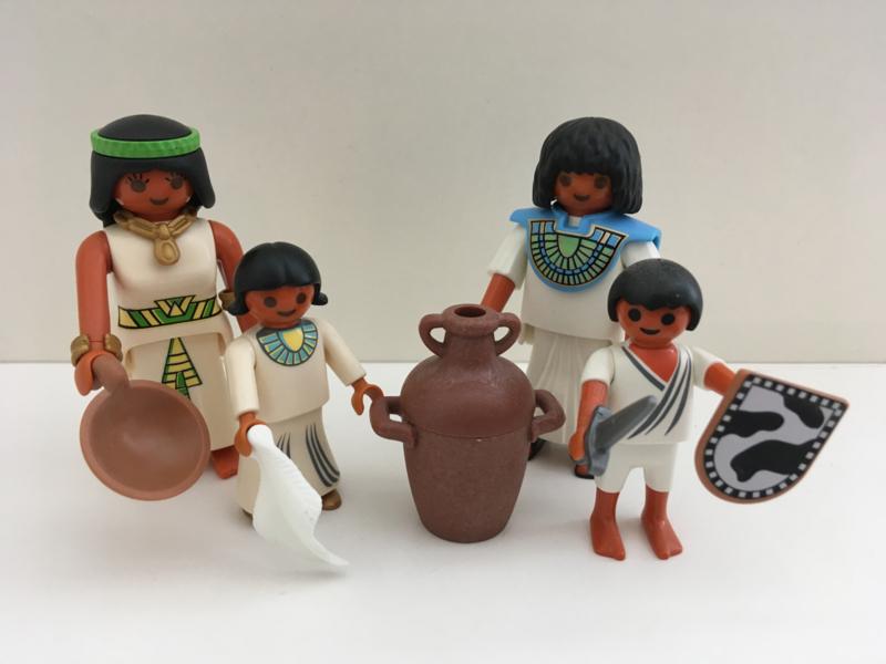 Egyptische familie