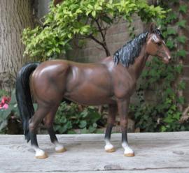 beeld paard bruin | 23 cm